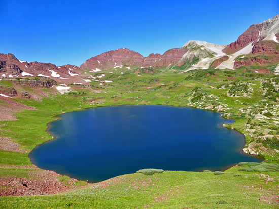 Willow Lake (11,795')